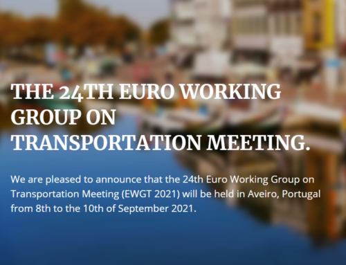 EWGT2021 – EURO Working Group on Transportation, September 2021