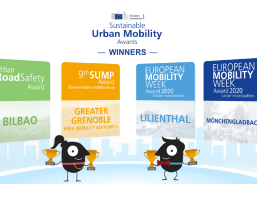 European Commission – European sustainable mobility Αwards, April 2021