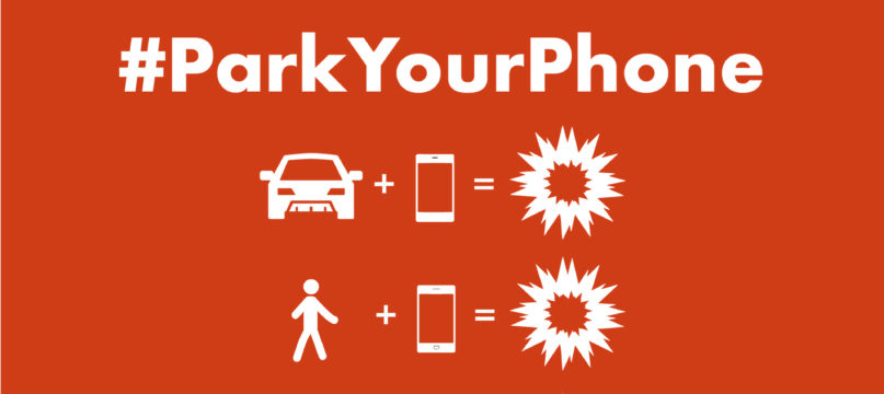 FIA – Distraction is a killer, #ParkYourPhone when on the road, 2017