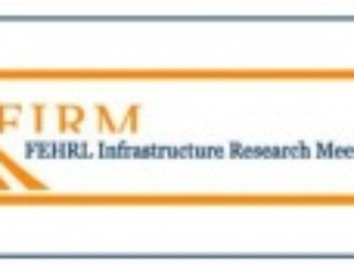 FEHRL – Road Infrastructure Research Workshop, Athens, 2019