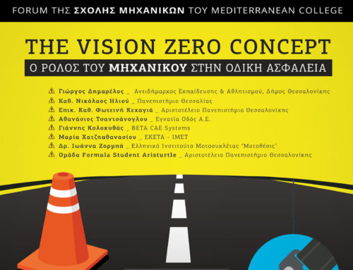 Mediterranean College – The Vision Zero Concept: the role of Civil Engineer on Road Safety