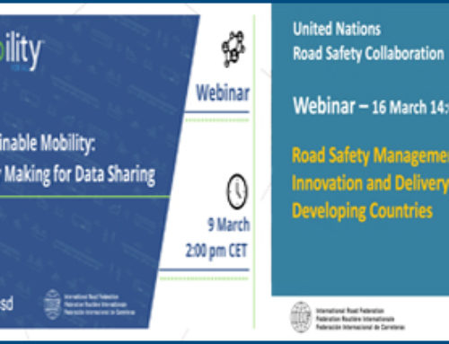 IRF – Webinars on Covid-19, Sustainable Mobility and Road Safety Management, March 2021