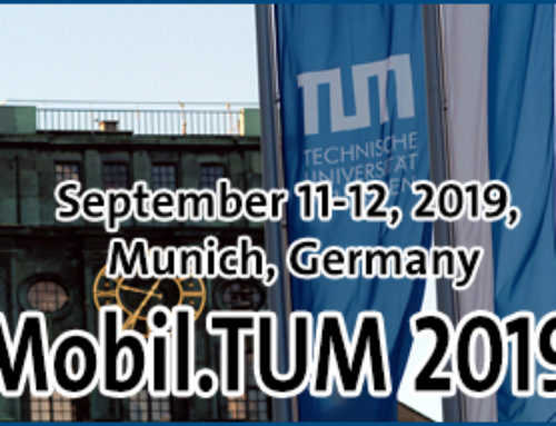 TUM – International Scientific Conference on Mobility and Transport (Mobil.TUM), Munich, 2019