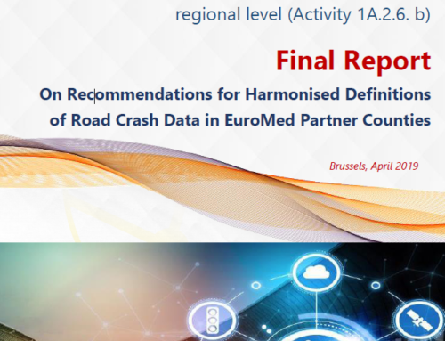 EuroMed – Recommendations for Harmonized Definitions of Road Crash Data, 2019
