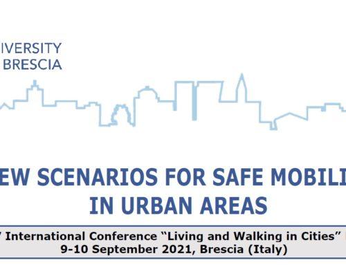 Universita Degli Studi di Brescia – Living and Walking in Cities International Conference, Brescia, 2021