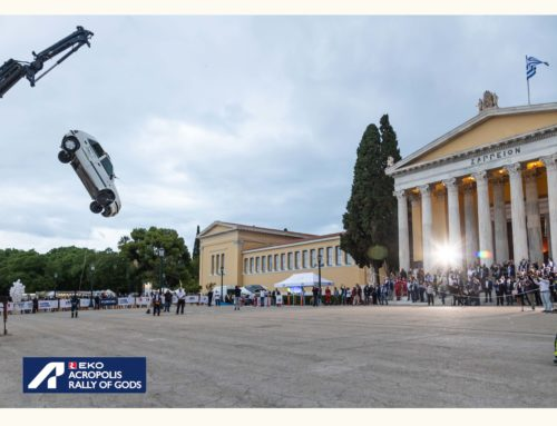 EKO Acropolis Rally with Road Safety Event, Athens, September 2021