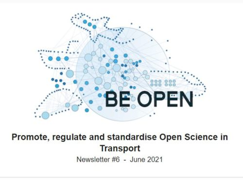 BE OPEN – 6th Newsletter, June 2021
