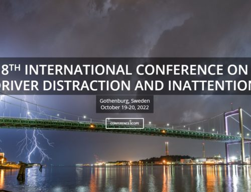DDI2022 – 8th International Conference on Driver Distraction and Inattention, Gothenburg, October 2022
