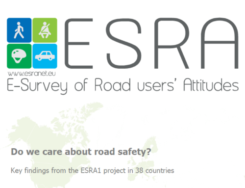 ESRA Report on Road Users' Safety Attitudes Worldwide, 2018