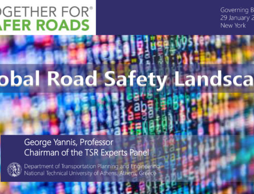 Global Road Safety Landscape at TSR, New York, 2019