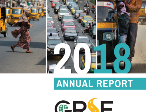 Global Road Safety Facility – Annual Report, 2018