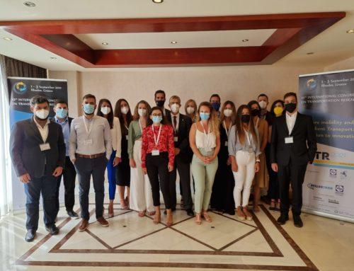 ICTR2021 – 10th International Congress on Transportation Research, September 2021