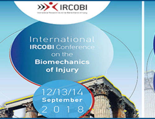 IRCOBI – International Research Council on the Biomechanics of Injury Europe Conference, Athens, 2018