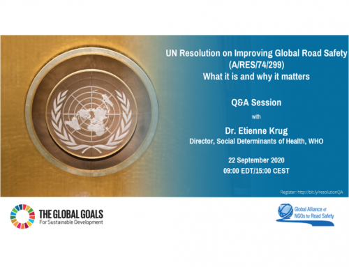 Global NGOs – Webinar: UN General Assembly resolution, September 2020