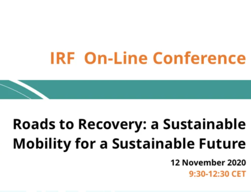 IRF – Conference: Roads to Recovery: a Sustainable Mobility for a Sustainable Future, online, November 2020