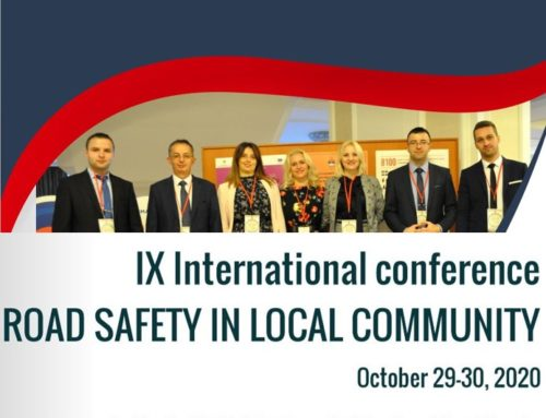 9th International Conference Road Safety in Local Community, Banja Luka, October 2020