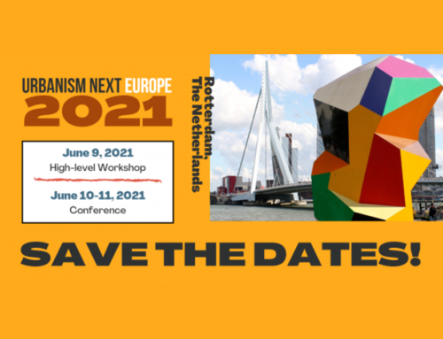 Urbanism Next Europe, Rotterdam, June 2021