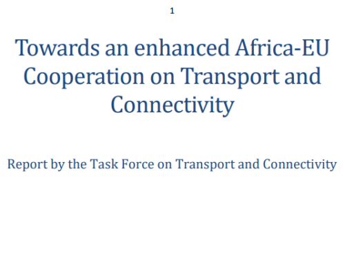 European Commission – Africa-Europe Alliance for Road Safety, February 2020
