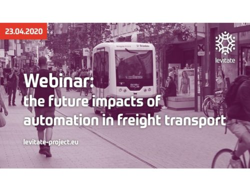 Levitate – Webinar: the future impacts of automation in freight transport, March 2020