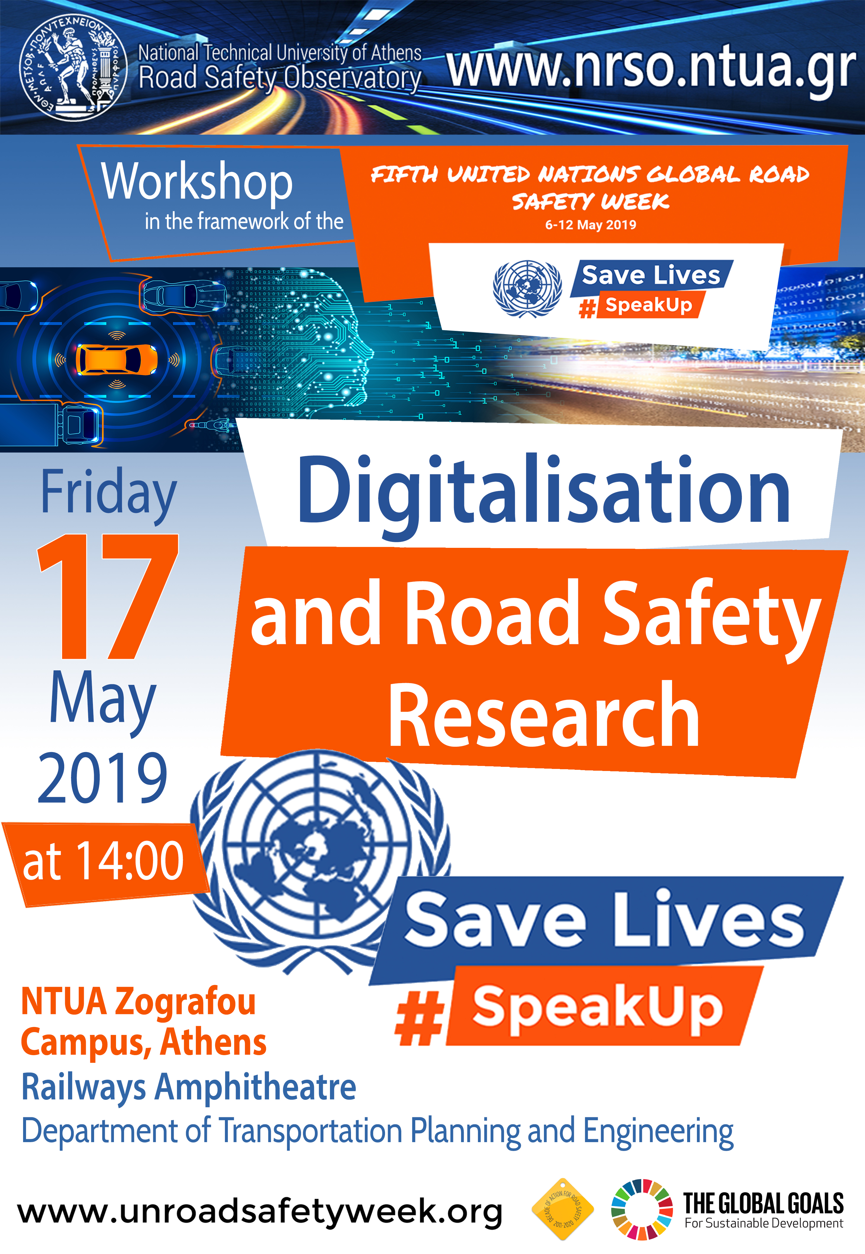 NTUA – Digitalisation and Road Safety Research Workshop