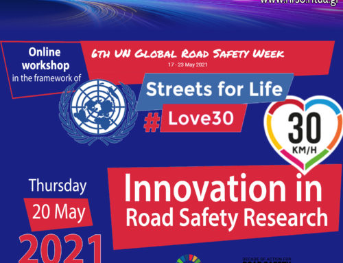 NTUA – Innovation in Road Safety Research Workshop, online, May 2021