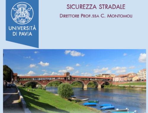 Universita di Pavia – Post Graduate programme in management of Road Safety, 2018
