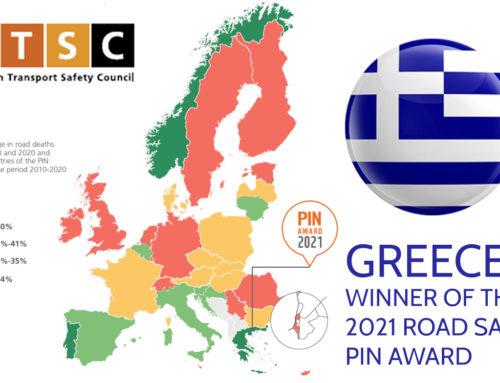 ETSC – Greece won the 2021 Road Safety Award, June 2021