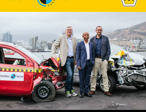 Global NCAP & AA South Africa launched #SaferCarsforAfrica, 2017