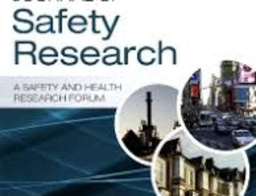 Journal of Safety Research –  Special issue: Safety, human factors and technology, 2018
