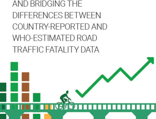WHO – Report on reported and estimated road traffic fatality data, 2019