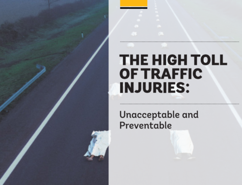 The World Bank – The high toll of traffic injuries, 2018